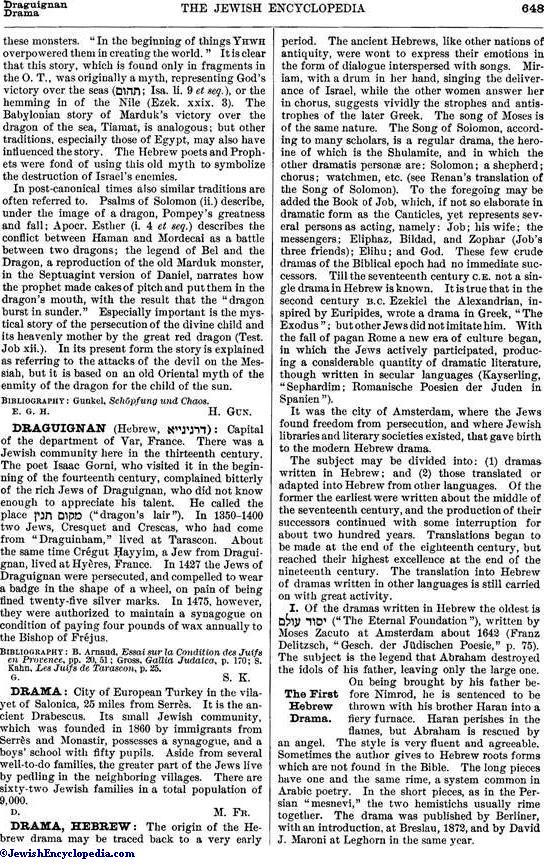 Dragon Jewishencyclopedia