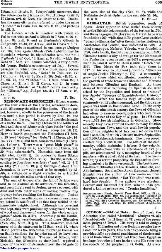 gideon jewishencyclopedia com v 5 p 660