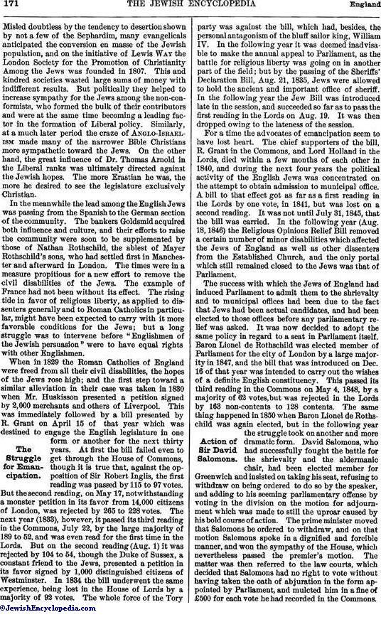 england jewishencyclopedia com