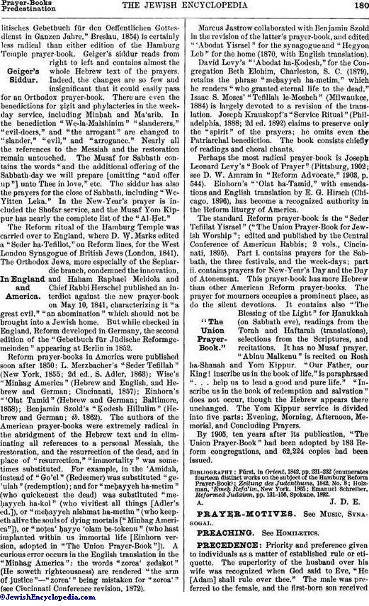 PRAYER-BOOKS - JewishEncyclopedia com