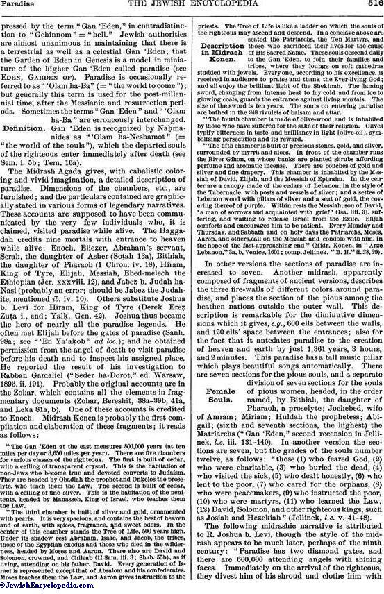 PARADISE - JewishEncyclopedia com