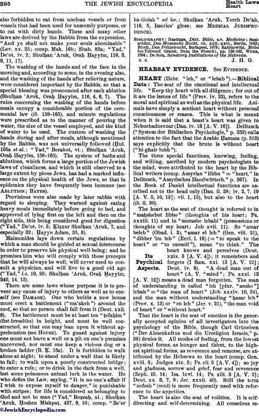 HEART - JewishEncyclopedia com